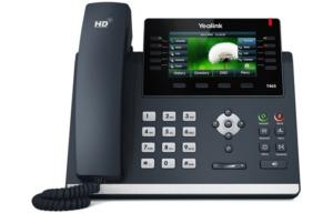 Standard téléphonique yealink avec écran tactile
